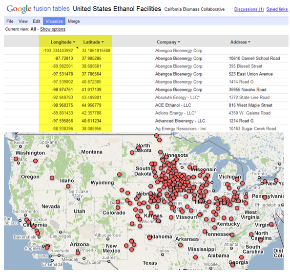 Adding A Fusion Table To Google Maps Geochalkboard